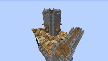 16x16 Castle Minecraft Map & Project