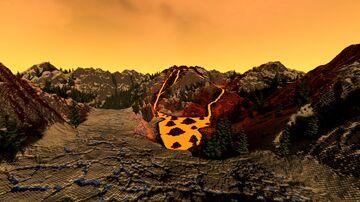 Snowy Volcano Island Minecraft Map & Project