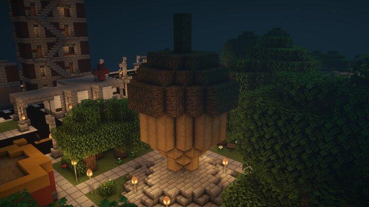 Popular Server Project : Acorn City