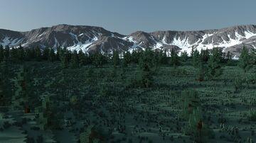 Esketika (10k x 9k) Custom Continent Minecraft Map & Project
