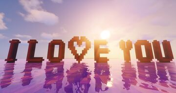 I Love You! Minecraft Map & Project