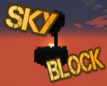 Skyblock 1.16 - 17 Different Islands with Biomes Minecraft Map & Project