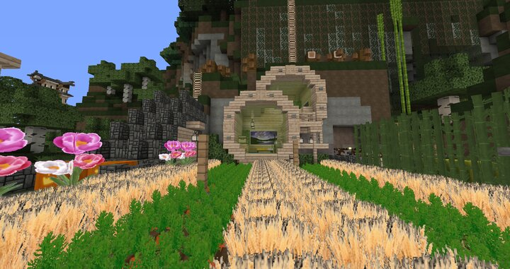 Popular Server Map : Mountain Home - Inspired by Jeb Muns