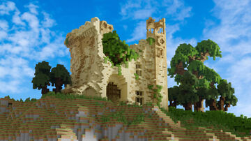 Castle Carr Minecraft Map & Project
