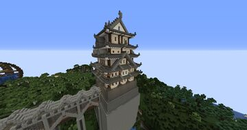 Pagoda Tower - Inspired by Grian Minecraft Map & Project