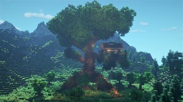 Giant Tree House (Download) Minecraft Map & Project