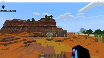 Badlands village Minecraft Map & Project