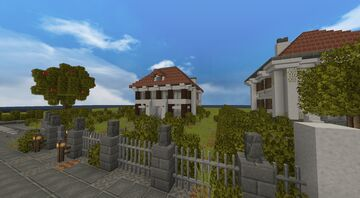 Little Old House Schematic Minecraft Map & Project