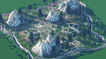 512x512 - Fantasy Warzone Minecraft Map & Project