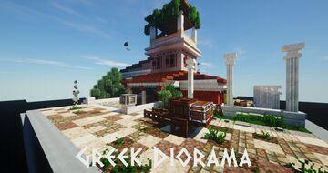 Greek Diorama Minecraft Map & Project