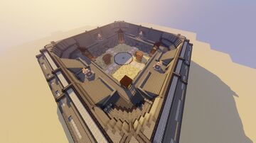 2-4 Players Arena Minecraft Map & Project