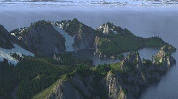 🌍  Skanfjord - A norwegian landscape attempt (4K Java ) Minecraft Map & Project