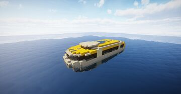 Tender Lifeboat Minecraft Map & Project
