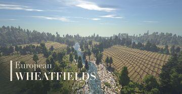 European Wheatfields Minecraft Map & Project
