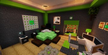 Jelly bedroom Minecraft Map & Project
