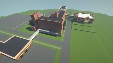 Good Samaritan Hospital (Zanesville, OH) Minecraft Map & Project