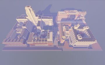 SOAS, University of London Campus Minecraft Map & Project
