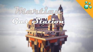Martian Gas Station Minecraft Map & Project