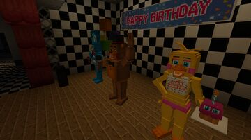 Five nights at Freddy's 2 Stylized Map Minecraft Map & Project