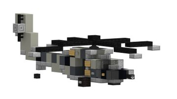 GSG9 UH60 Blackhawk +DOWNLOAD Minecraft Map & Project