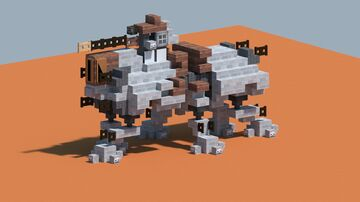 StarWars AT-TE walker [With Download] Minecraft Map & Project