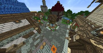 Langdale Town (v1.0 - 1.12.2) Minecraft Map & Project