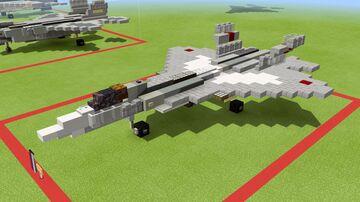SU-57 Felon 1.5-1 scale Minecraft Map & Project