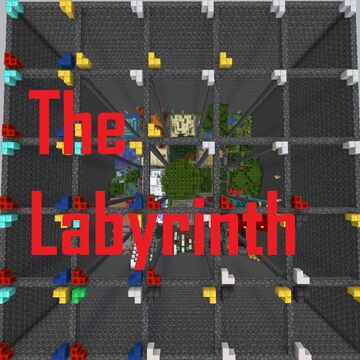 The Labyrinth Survival [1.16+] Minecraft Map & Project