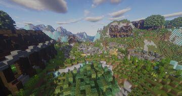 Eclipse Nation: Aurora Town Minecraft Map & Project