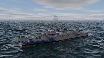 USS Cassin Young Fletcher Class Destroyer 1:1 Scale Minecraft Map & Project