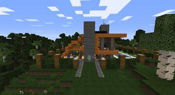 Casa Moderna 2 Minecraft Map & Project