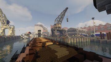 Project Valvy - Valvy South West Docks Minecraft Map & Project