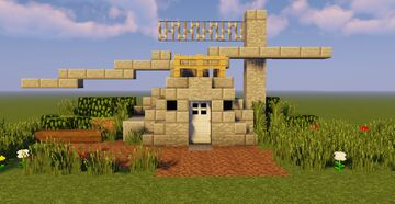 Jurassic Park Maintenance Shed Minecraft Map & Project