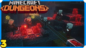 Minecraft Dungeons Full Game Walkthrough | 3 | Redstone Mines Minecraft Map & Project
