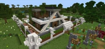 Smart house Minecraft Map & Project