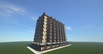 Grand Lotus Hotel Minecraft Map & Project