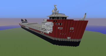 Cargo Ship [EasyMax - Wagenborg] (ms Wicked Wagenborg) Minecraft Map & Project