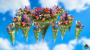 ⭐ EXCLUSIVE ⭐ SamiLog Flowers - AliensBuilds 🌹 Minecraft Map & Project