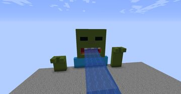 Zombie Attack Minecraft Map & Project