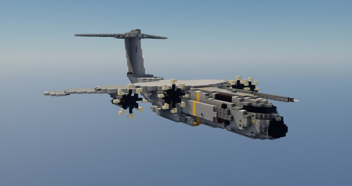Popular Server Map : Airbus A400M 1.5:1 scale