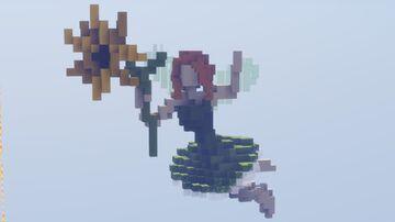 Sunflower Fairy | DOWNLOAD Schematic Minecraft Map & Project