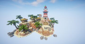 Lighthouse beach lobby ► Moddragon Minecraft Map & Project