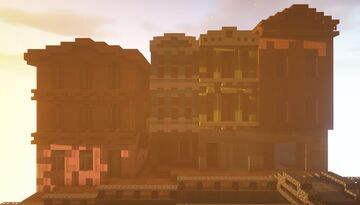 Piece of the street Minecraft Map & Project