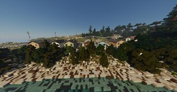 The Corbois bungalow developement Minecraft Map & Project