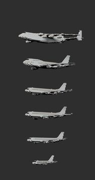 1:1 scale planes collection   Big ones Minecraft Map & Project