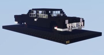 1949 Ford - 5:1 Scale Minecraft Map & Project