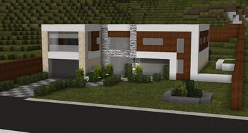 Contemporary House 1 Minecraft Map & Project