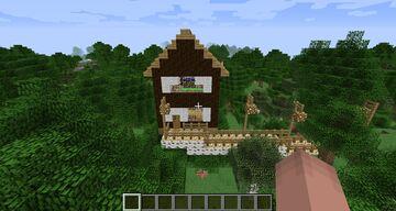 Starter House Minecraft Version 1.0-1.16 Minecraft Map & Project