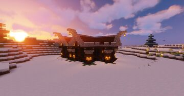Small Cabin Minecraft Map & Project