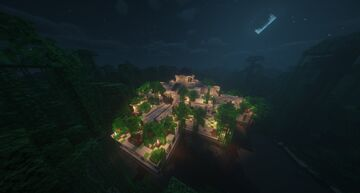 Hanging Gardens Minecraft Map & Project